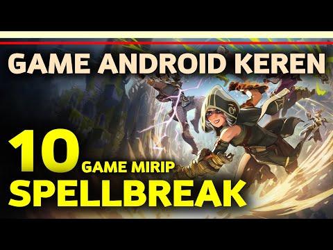10 Game Mirip Spellbreak Offline/Online Terbaik Di Android | Gamelist Battle Royale Magic