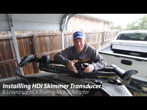 Lowrance hook 4x unboxing and comments doovi for Lowrance hdi trolling motor adaptor for skimmer transducer