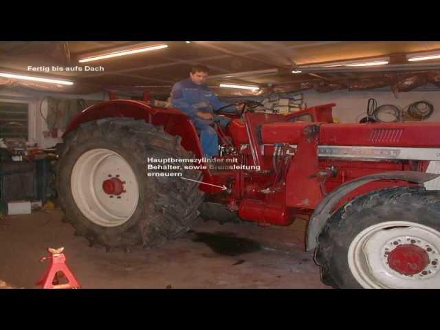 IHC 946 Unfall und Wiederaufbau