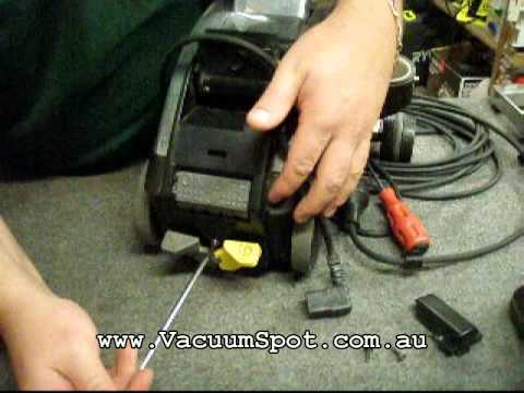 how to change a power lead on a kirby vacuum cleaner - with clear and  simple steps  - youtube