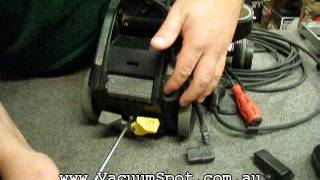How to change a power lead on a Kirby vacuum cleaner - With clear and simple steps.