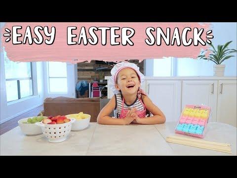 EASY EASTER KIDS SNACKS | FAMILY VLOGGERS