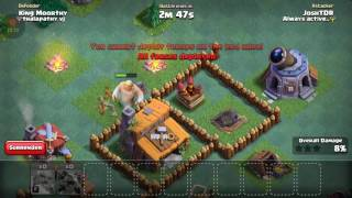 Josh TDR Clash Of Clans Part#5 Anti Boxer Giant And Beta Minions