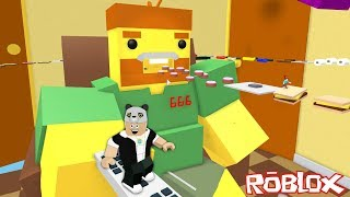 Escape from the Living Room!! - Roblox Escape The Living Room Obby with Panda!