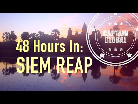 Siem Reap & Angor Wat: Cambodia Travel Vlog in 4K