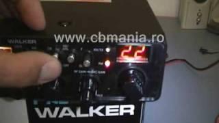 president walker statie radio cb by www cbmania ro wmv