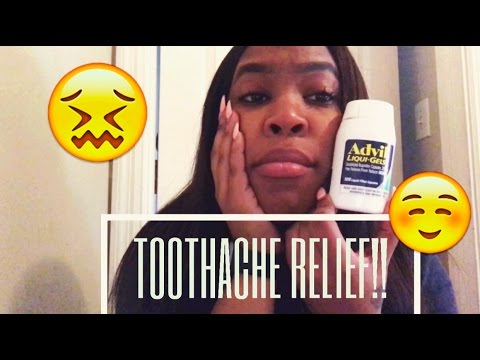 TOOTHACHE RELIEF INSTANTLY!!! (REALLY WORKS!!)