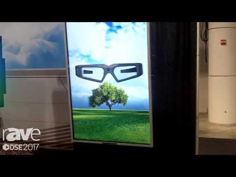 DSE 2017: Exceptional 3D Exhibits 65″ 4K 3D Digital Signage Display