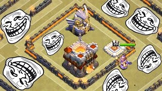 RATHAUS 11 CLAN WAR TROLL! || CLASH OF CLANS || Let's Play CoC [Deutsch/German HD+]