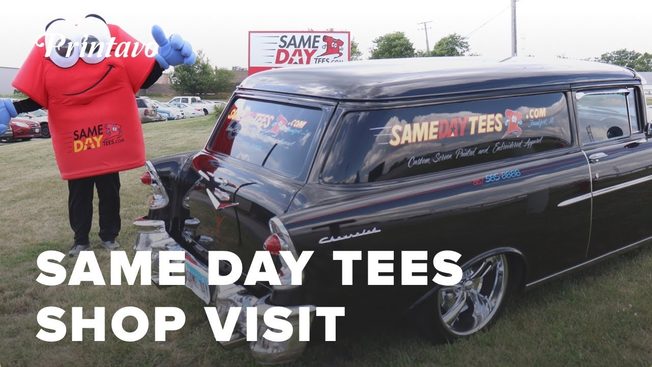 Same Day Tees Shop Visit | Automation and The Future of Screen Printing