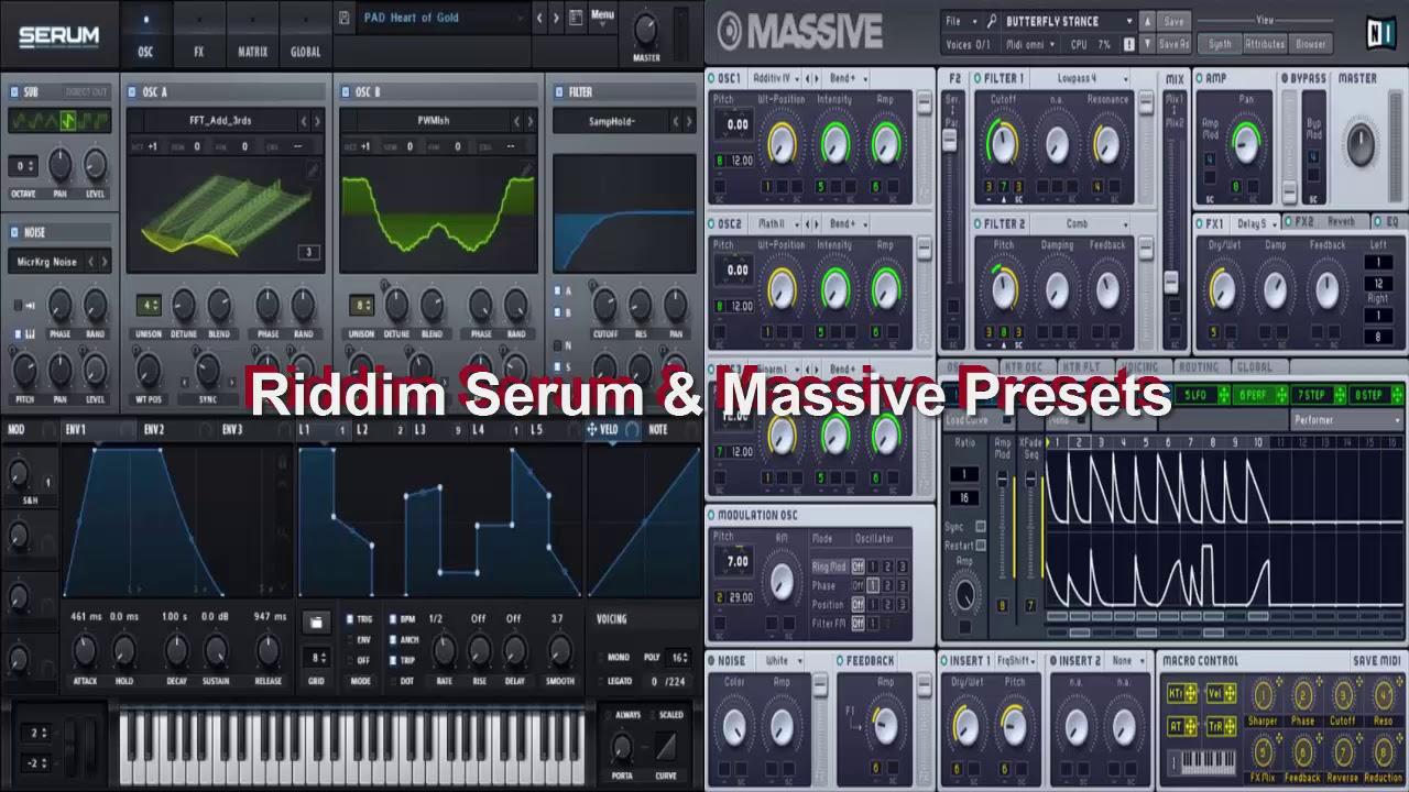 Riddim Serum ` Massive Presets | Free Riddim Presets (2018) by Eamon  Production - Free Vst's, Packs & FLP's