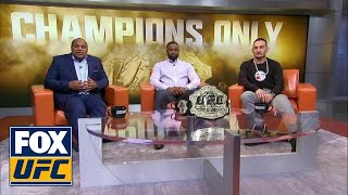 Champs Only: Cormier, Woodley, and Holloway | UFC Tonight