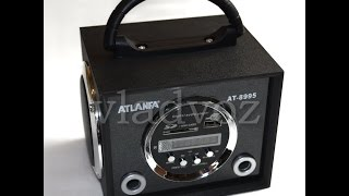 Портативная колонка Atlanfa AT-8995 обзор
