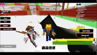 How to beat up a noob on DBZ on ROBLOX