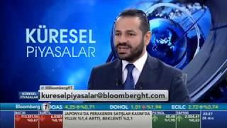 28.12.2018 - Bloomberg HT - Küresel Piyasalar - Araştırma Müdürü Dr. Tuğberk Çitilci #DOLAR