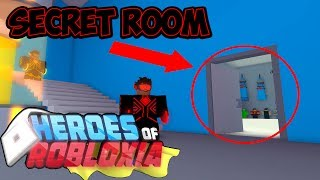 WIE ZU GET SECRET BADGE IN ROBLOX HEROES OF ROBLOXIA | GEHEIMER RAUM! | iBeMaine