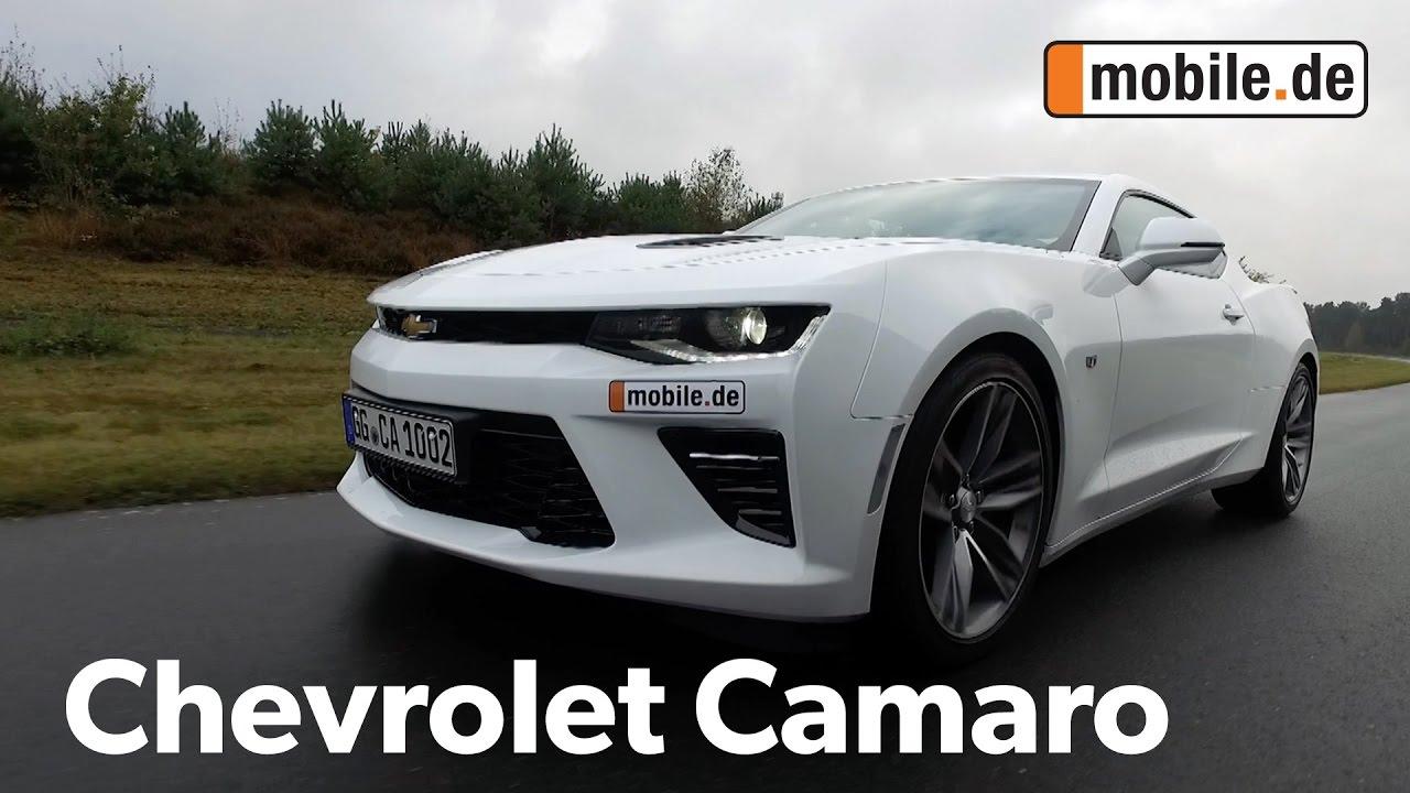 auto test chevrolet camaro 6th generation ab 2016 mobile de