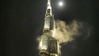 Burj khalifa || view from top ||night view||tallest building in the world