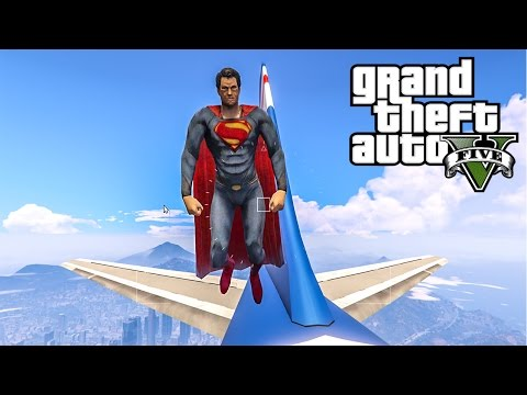SUPERMAN MOD - GTA V