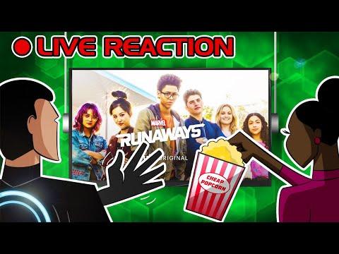🔴 Marvel's Runaways :: JEDI REACTS! LIVE (Nov 21st, 7pm EST)
