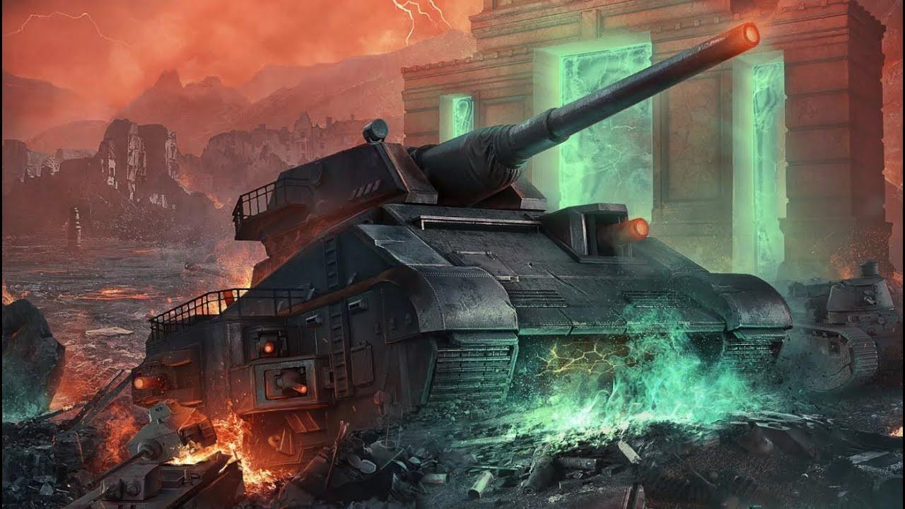 World of Tanks  хэллоуин история называется (Бабушка Марфа)