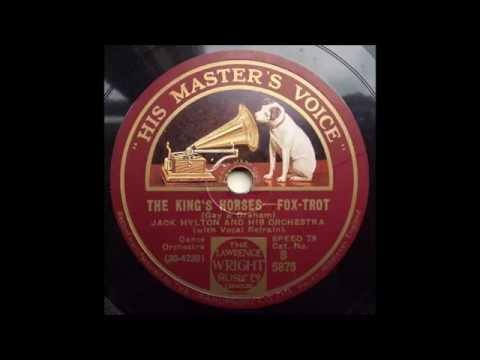 The Kings Horses, Jack Hylton, 1930