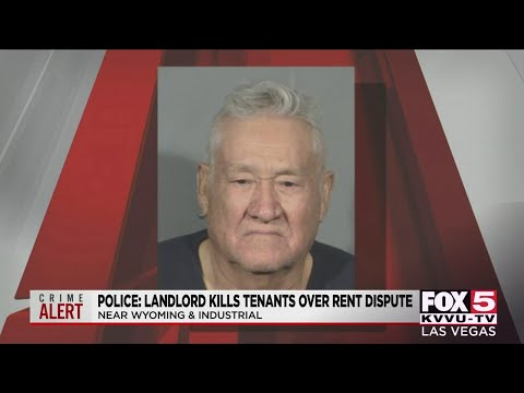 Las Vegas Beastly Savage Landlord Murdered Tenants Over Unpaid Rent