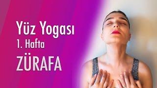 1. Hafta Yüz Yogası - Boyun Hareketi (Zürafa)