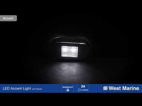 WEST MARINE LED Accent Light, White