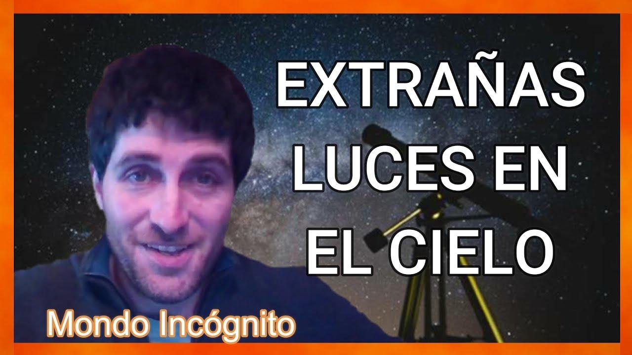 Qué son realmente esas extrañas luces en el cielo #Quecoñohayenelcielo