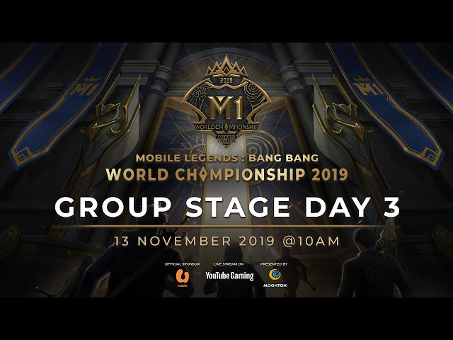 Live now: MLBB World Championship 2019 Day 3 Group Stage C