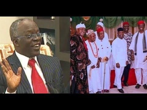 The real person behind the quit notice to Igbos is a Lagos man - Falana
