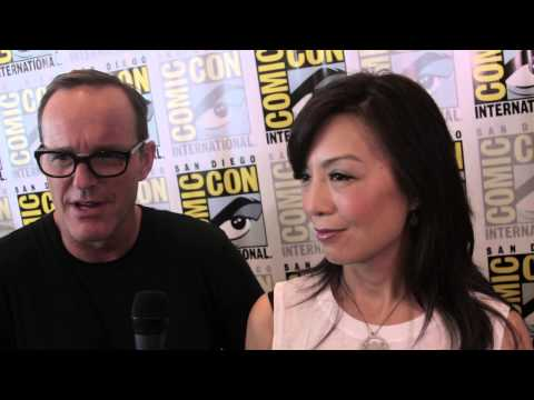 Geeking Out: SDCC Interview w/Clark Gregg (Phil Coulson) & Ming-Na Wen (Melinda May)