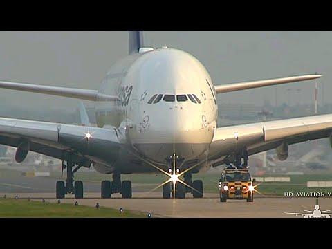 ᴴᴰ ✈ EXTREME CLOSE A380-800 Lufthansa