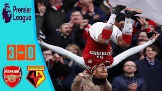 Arsenal vs Watford 3-0 All Goals & Extended Highlights 11 03 2018 HD
