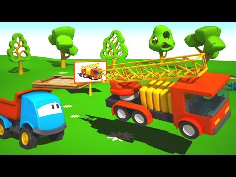 El Camión de Bomberos - Leo la Troca Curiosa - Carros para niños