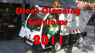 Street Cleaning Simulator 2011 HD gameplay