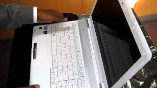 unboxing qosmio f750 deluxe hd notebook intel i7 8gb ram 1tb hard drive blu ray