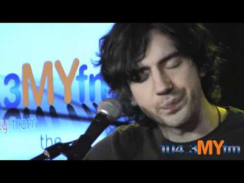 Snow Patrol Just Say Yes  inside the MYfm Performance Studio