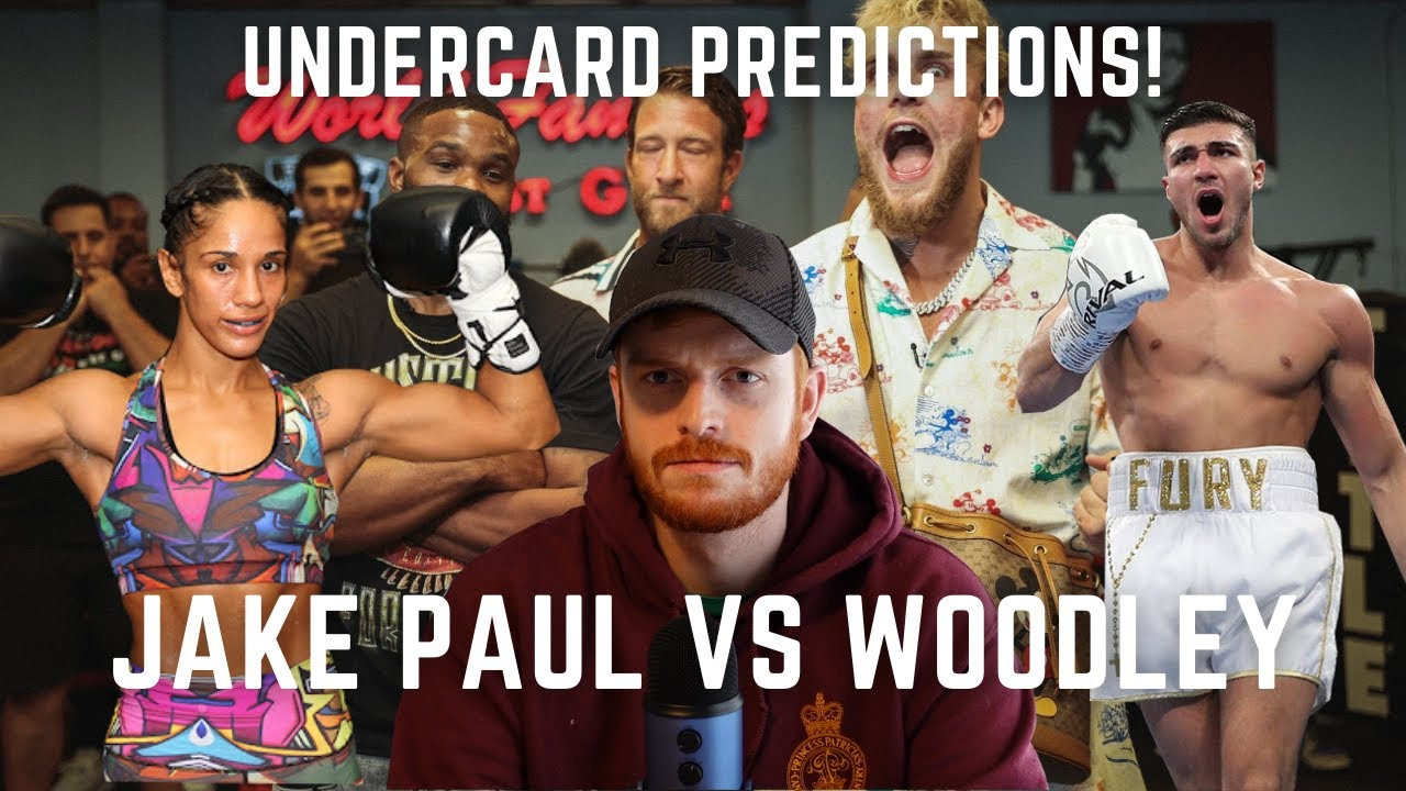 Jake Paul vs. Tyron Woodley: Fight predictions, odds, undercard ...