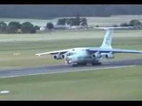 Russian Airplane Departing Australia