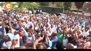 Senators Omar, Kilonzo in bid to end doctors' strike