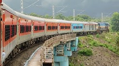 Mumbai To Madgaon : Full Journey : 10103 CSMT - MAO Mandovi Express : Indian Railways