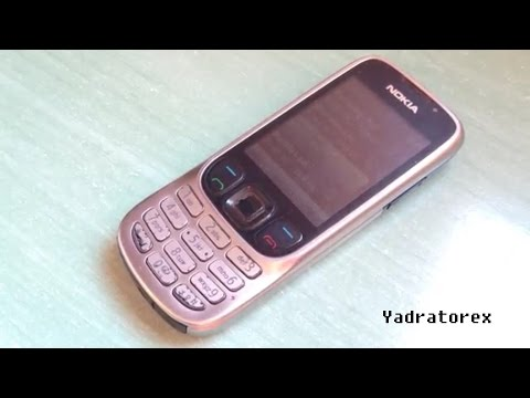 Nokia 6303(i) classic retro review (old ringtones, wallpapers & themes)