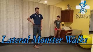 Lateral Monster Walks - De La Cruz Chiropractic