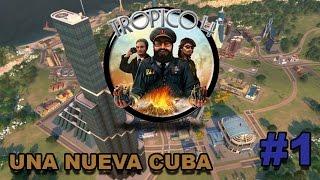 TROPICO 4 | #1 | Comienza una nueva presidencia en la isla - Gameplay Español