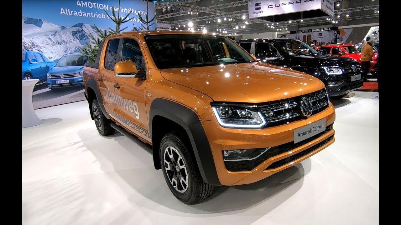 volkswagen vw amarok canyon v6 4motion new model honey. Black Bedroom Furniture Sets. Home Design Ideas