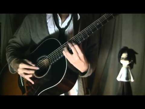 "Kagamine Rin - ""Roshinyuukai"" On Guitar By Osamuraisan 「炉心融解」"