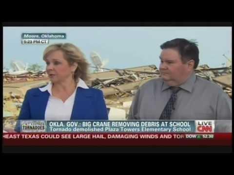 Oklahoma Governor Mary Fallin & Moore Mayor Glenn Lewis Interview (May 21, 2013)