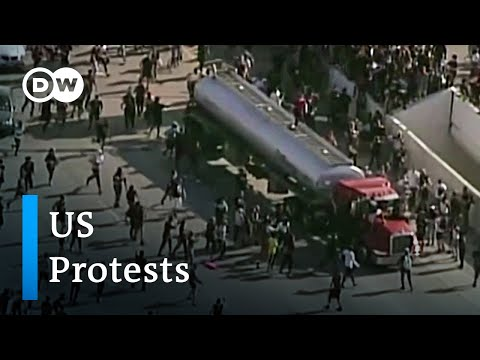 George Floyd mass protests in the US: Latest developments | DW News